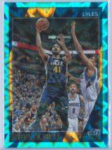 Trey Lyles Panini NBA Hoops 2016-17  Teal Explosion