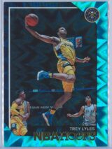 Trey Lyles Panini NBA Hoops 2018-19  Teal Explosion