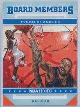 Tyson Chandler Panini NBA Hoops 2012-13 Board Members