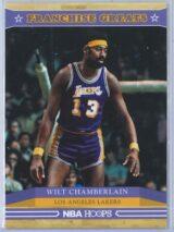 Wilt Chamberlain Panini NBA Hoops 2012-13 Franchise Greats