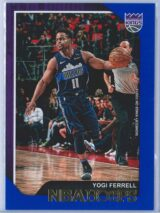 Yogi Ferrell Panini NBA Hoops 2018-19  Blue