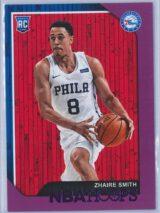 Zhaire Smith Panini NBA Hoops 2018-19  Purple  RC