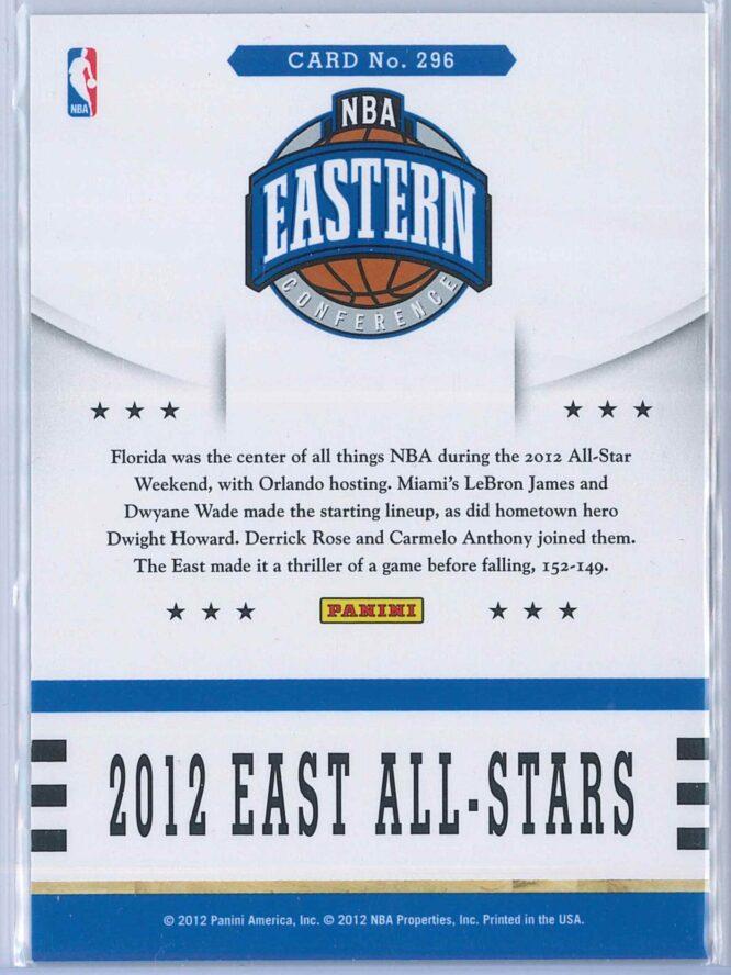 2012 East All Stars Panini NBA Hoops 2012 13 Base 2
