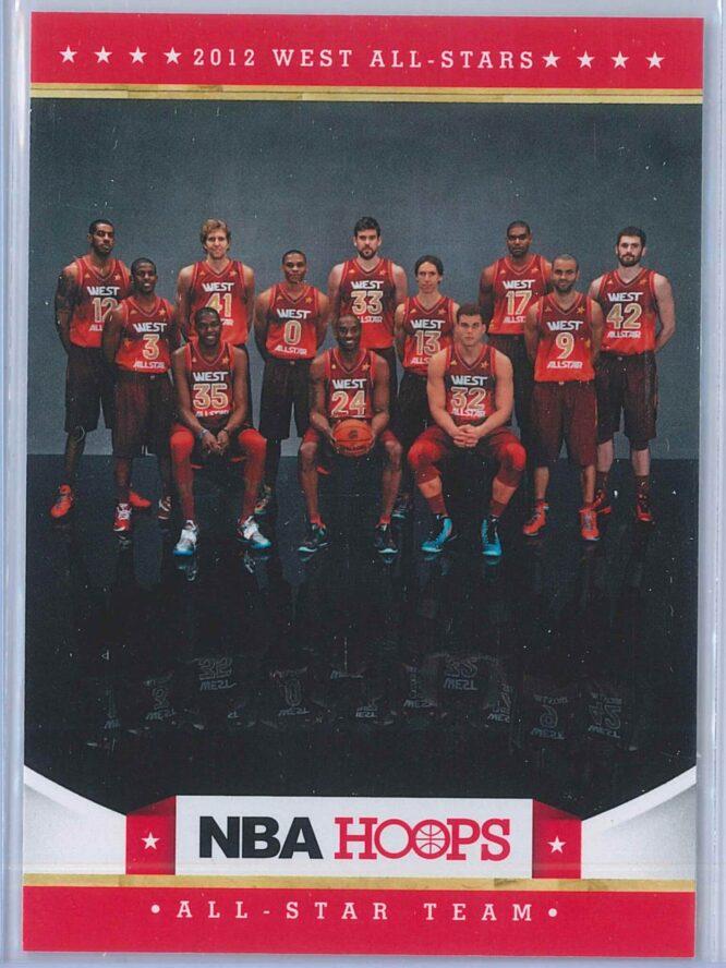 2012 West All Stars Panini NBA Hoops 2012-13 Base
