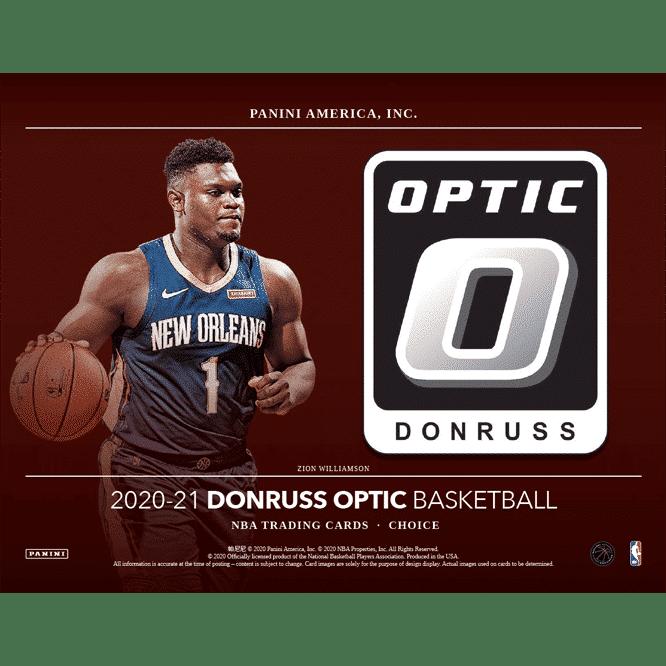2020 21 Donruss Optic Basketball cards