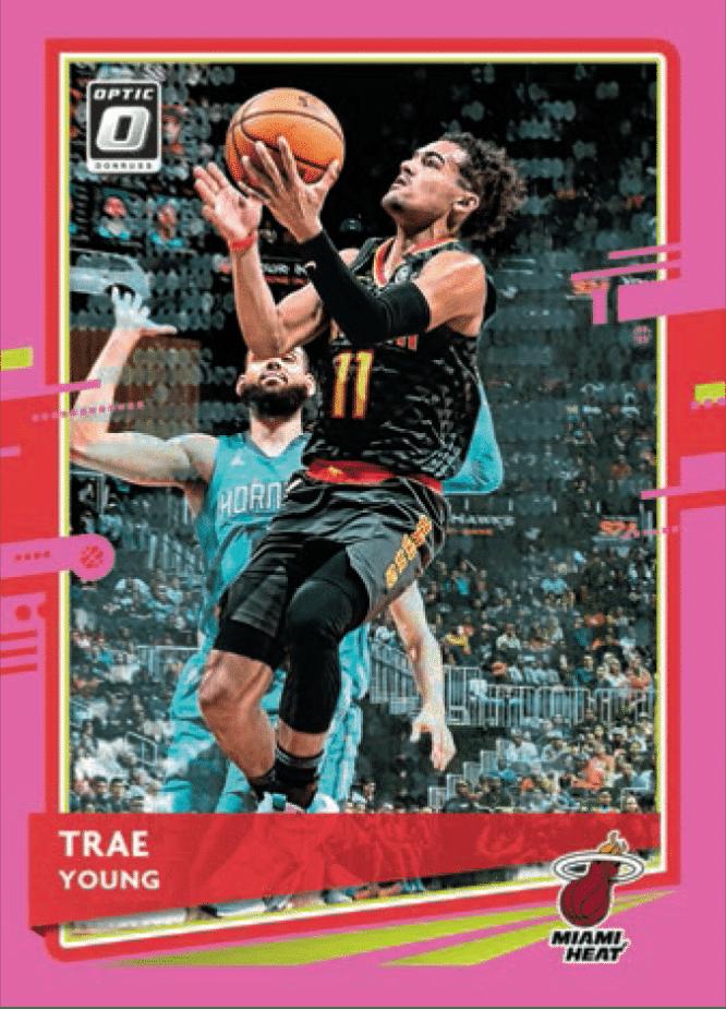 2020 21 Panini Donruss Optic Basketball Base Pnik Trae Young