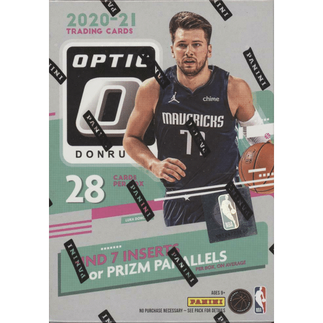 2020 21 Panini Donruss Optic Basketball Cards Blaster Box
