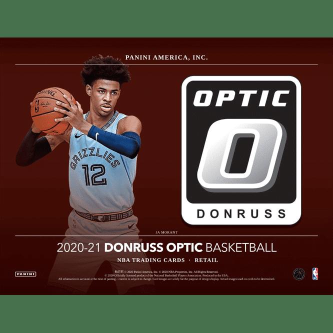 2020 21 Panini Donruss Optic Basketball Cards Retail Box