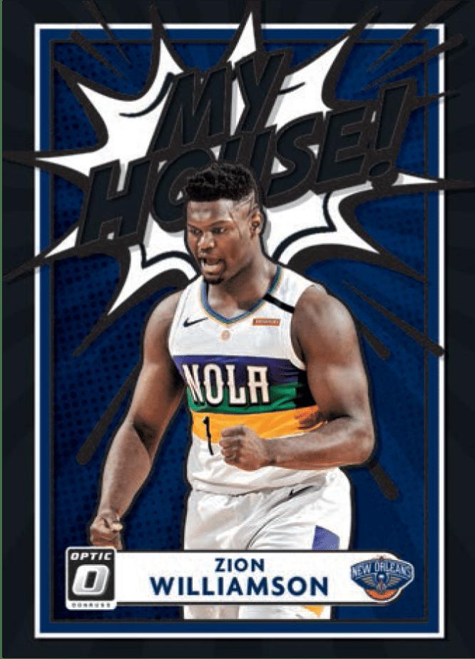 2020 21 Panini Donruss Optic Basketball Zion Williamson