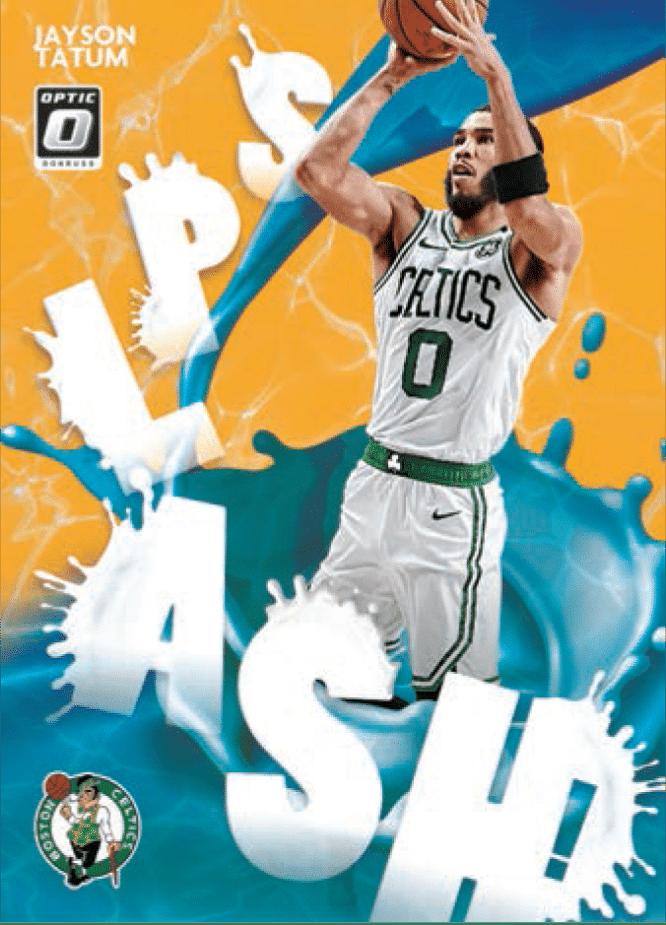 2020 21 Panini Donruss Optic Basketball splash gold Jayson Tatum