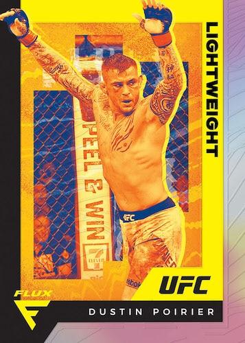 2021 Panini Chronicles UFC Cards Base Flux Dustin Poirier