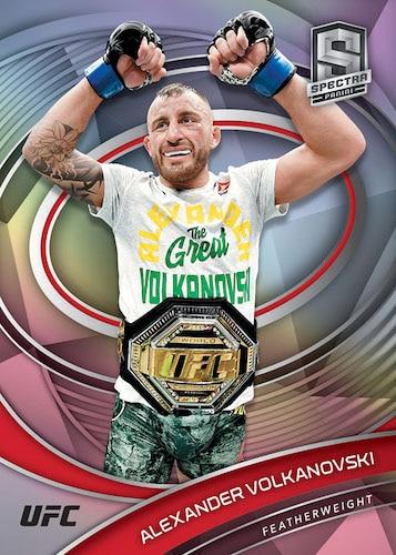 2021 Panini Chronicles UFC Cards Base Spectra Alexander Volkanovski
