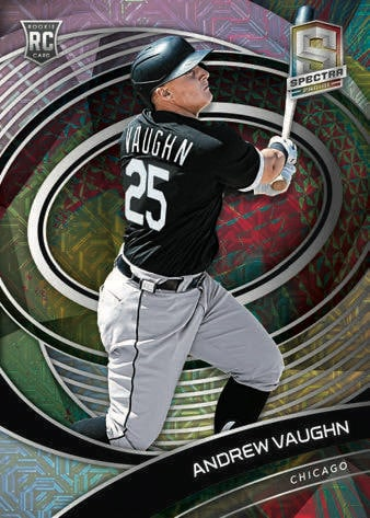 2021 Panini Spectra Baseball Cards Rookies Meta Andrew Vaughn RC