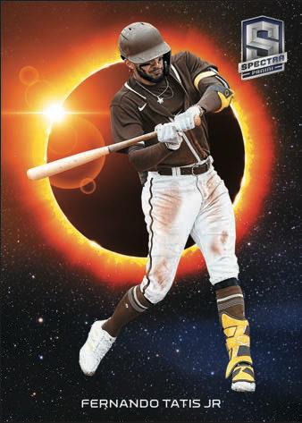 2021 Panini Spectra Baseball Cards Solar Eclipse Fernando Tatis Jr
