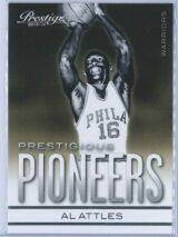 Al Attles Panini Prestige Basketball 2013-14 Prestigious Pioneers