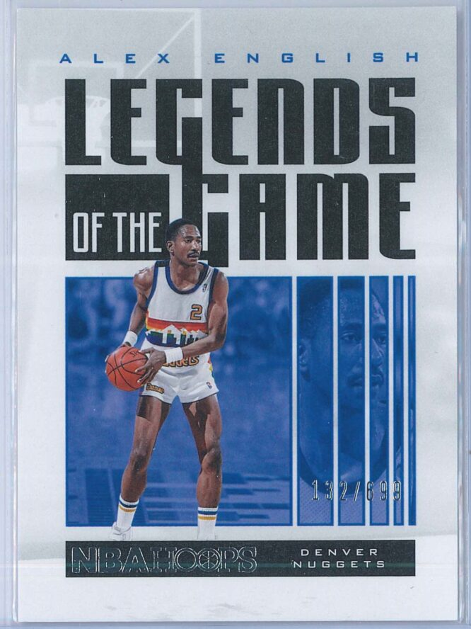 Alex English Panini NBA Hoops 2020 21 Legends Of The Game 132699 1