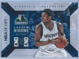 Andrew Wiggins Panini NBA Hoops Basketball 2015-16 End 2 End