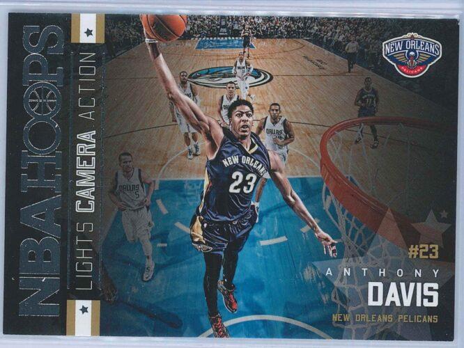 Anthony Davis Panini NBA Hoops Basketball 2015-16 Lights Camera Action