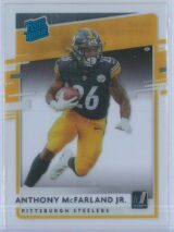 Anthony McFarland Jr. Panini Chronicles Football 2020 Clearly Donruss  Rated Rookie