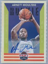 Arnett Moultrie Panini Past And Present Basketball 2012-13  RC Auto