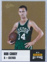 Bob Cousy Panini Absolute Memorabilia 2010-11 Panini All Stars