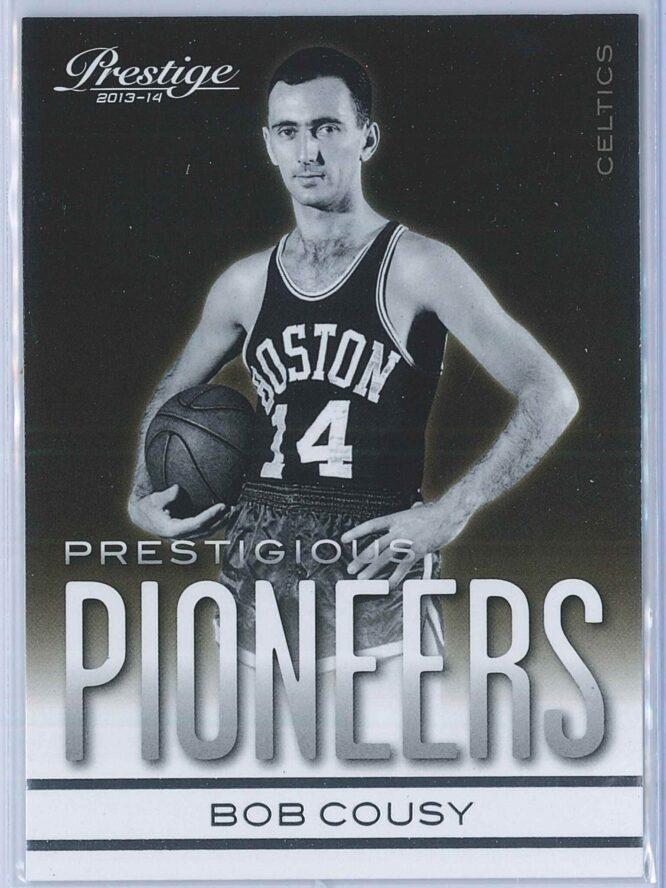 Bob Cousy Panini Prestige Basketball 2013-14 Prestigious Pioneers