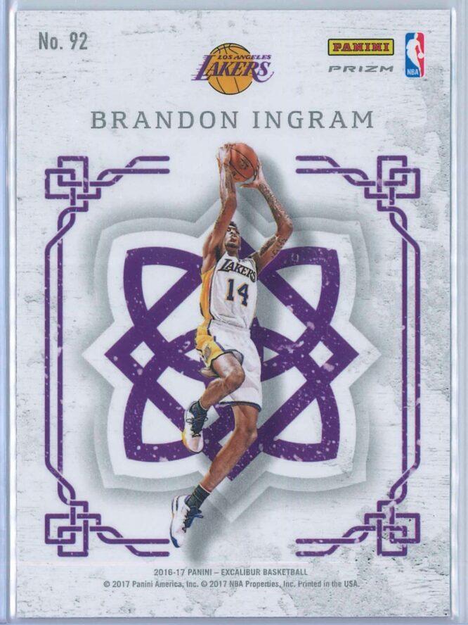 Brandon Ingram Panini Excalibur Basketball 2016 17 Crusade Camo 2