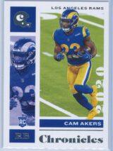 Cam Akers Panini Chronicles Football 2020 Base RC