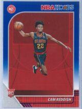 Cam Reddish Panini NBA Hoops Basketball 2019-20 Base Blue  RC