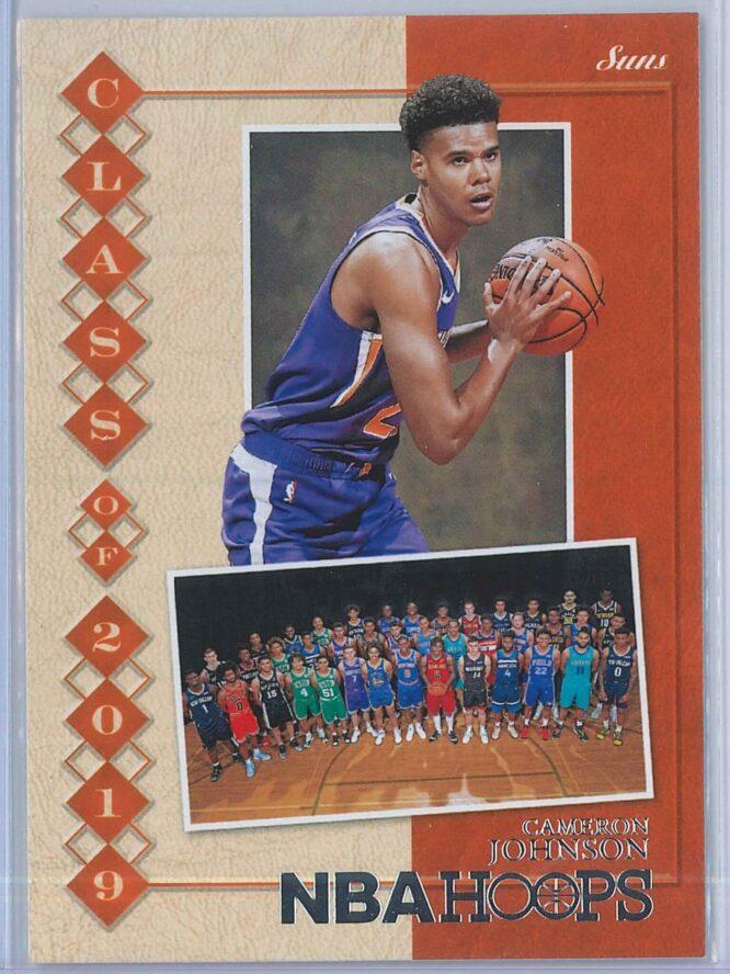 Cameron Johnson Panini NBA Hoops 2019-20 Class of 2019