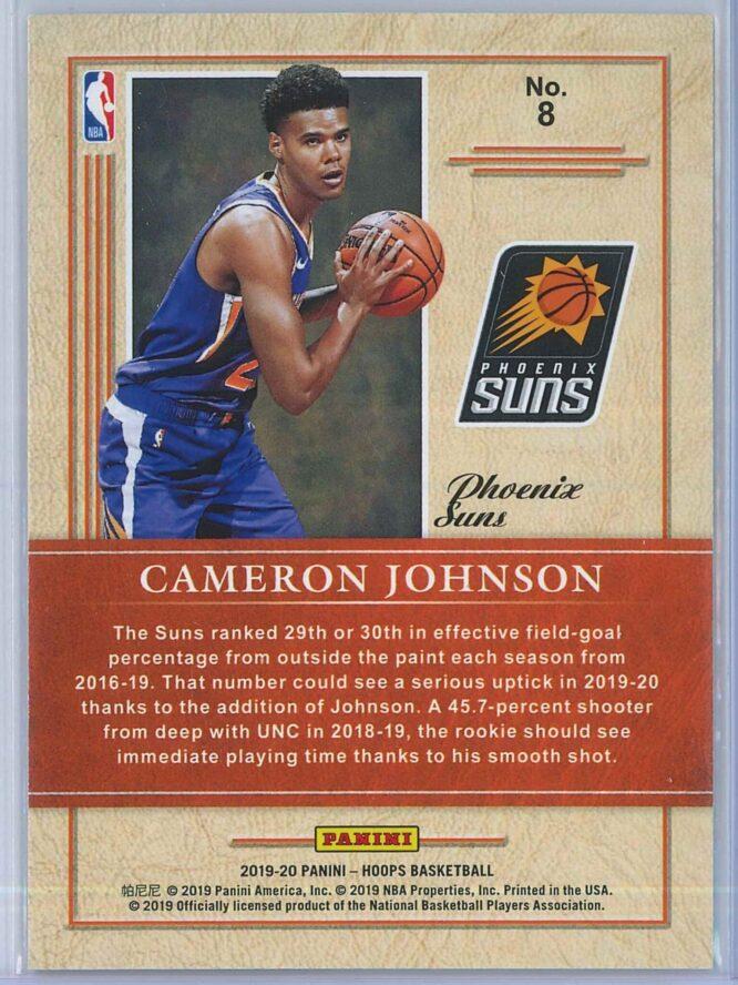 Cameron Johnson Panini NBA Hoops 2019 20 Class of 2019 2