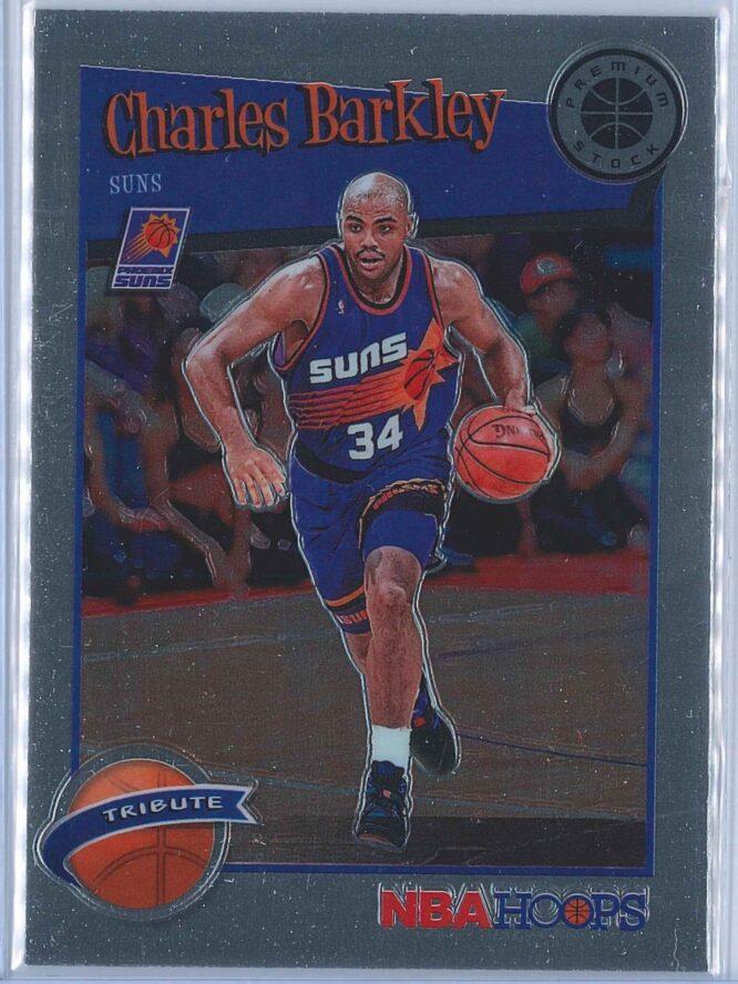 Charles Barkley Panini NBA Hoops Premium Stock 2019-20 Tribute
