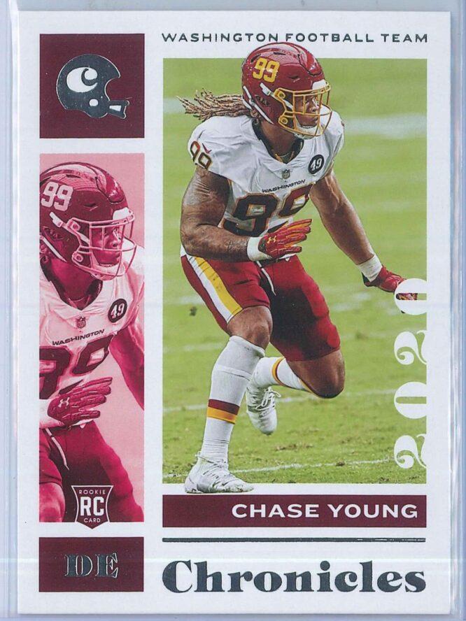 Chase Young Panini Chronicles Football 2020 Base RC