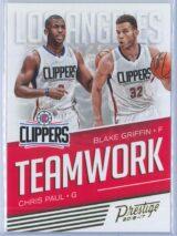 Chris Paul - Blake Griffin Panini Prestige Basketball 2016-17 Teamwork