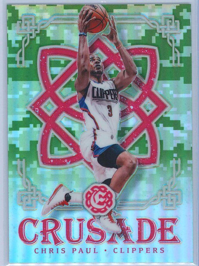 Chris Paul Panini Excalibur Basketball 2016-17 Crusade Camo