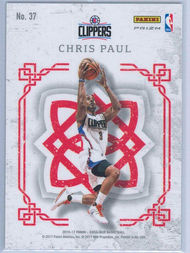 Chris Paul Panini Excalibur Basketball 2016 17 Crusade Camo 2