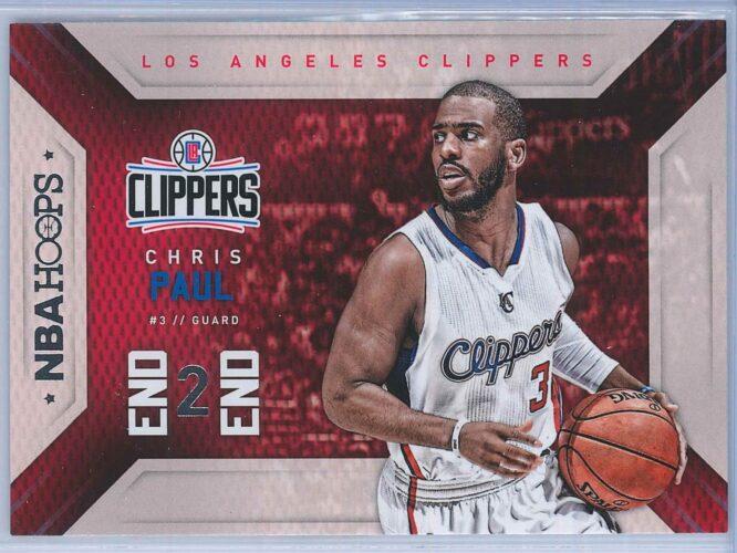 Chris Paul Panini NBA Hoops Basketball 2015-16 End 2 End
