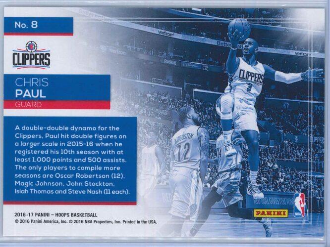 Chris Paul Panini NBA Hoops Basketball 2016 17 Lights Camera Action 2