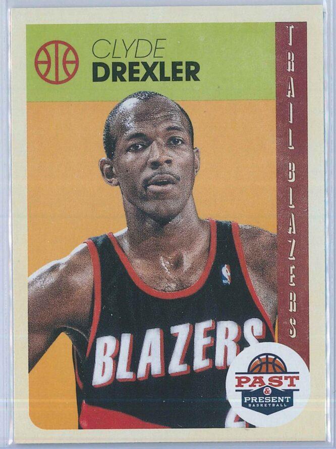 Clyde Drexler Panini Past And Present Basketball 2012-13 Base