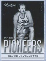Clyde Lovellette Panini Prestige Basketball 2013-14 Prestigious Pioneers