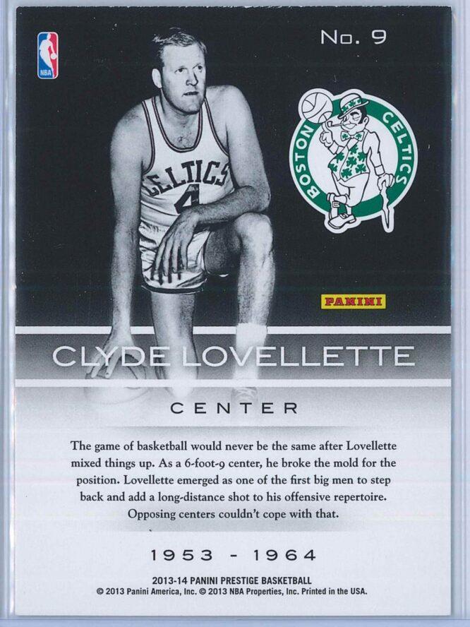 Clyde Lovellette Panini Prestige Basketball 2013 14 Prestigious Pioneers 2