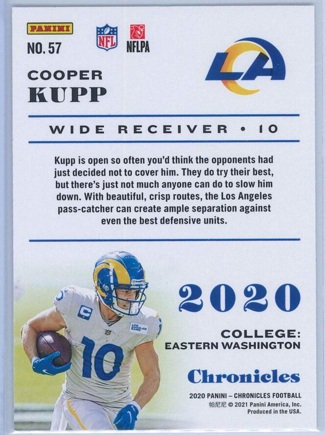 Cooper Kupp Panini Chronicles Football 2020 Base 2