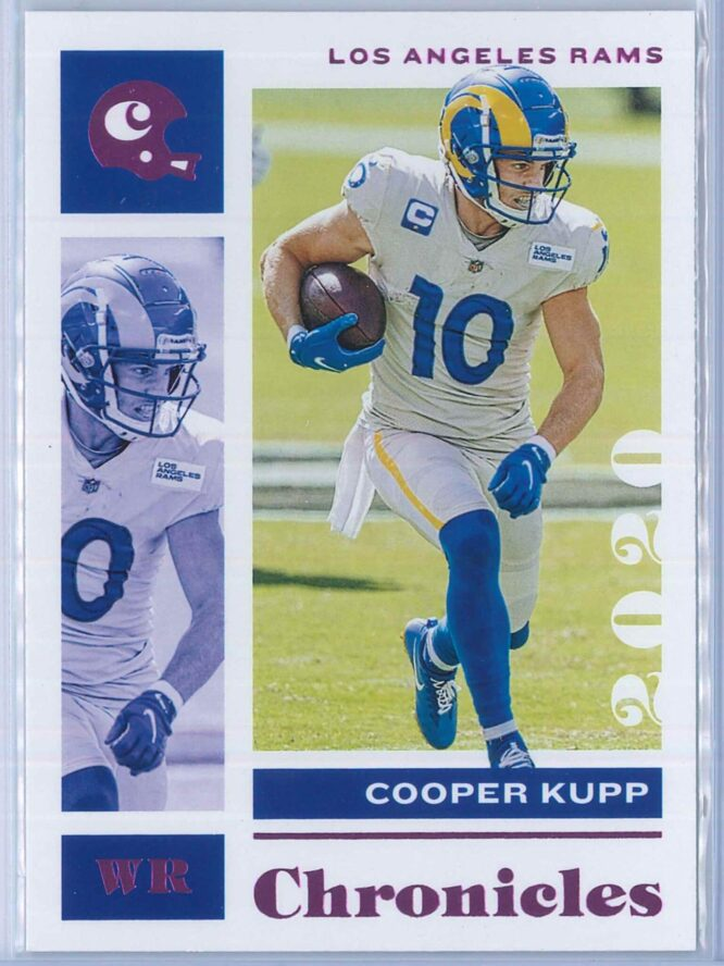 Cooper Kupp Panini Chronicles Football 2020 Base Pink