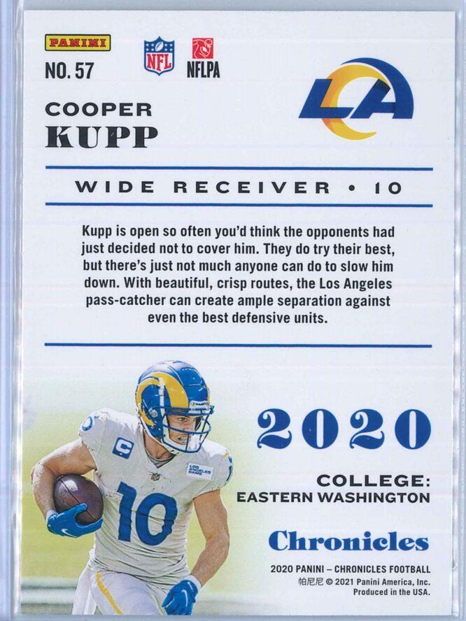 Cooper Kupp Panini Chronicles Football 2020 Base Pink 2