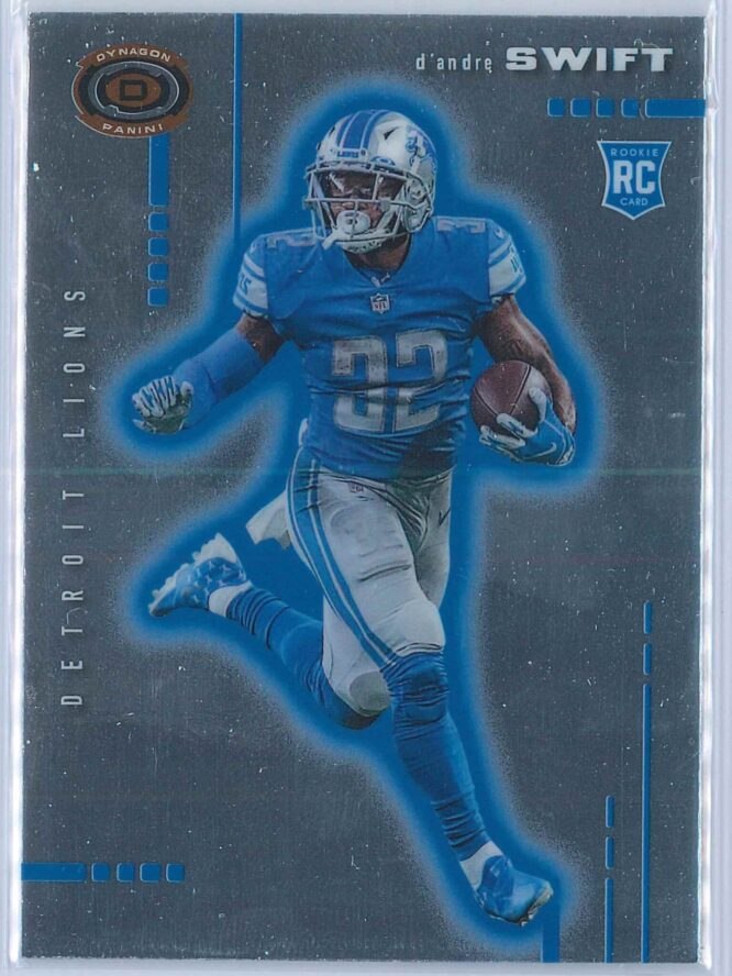 D'Andre Swift Panini Chronicles Football 2020 Dynagon RC