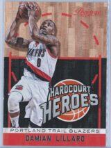 Damian Lillard Panini Prestige Basketball 2013-14 Hardcourt Heroes