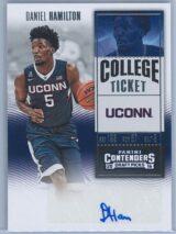Daniel Hamilton Panini Contenders Basketball 2016 College Ticket   Auto