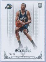 Dante Exum Panini Excalibur Basketball 2014 15 Base Silver 2949 RC 1