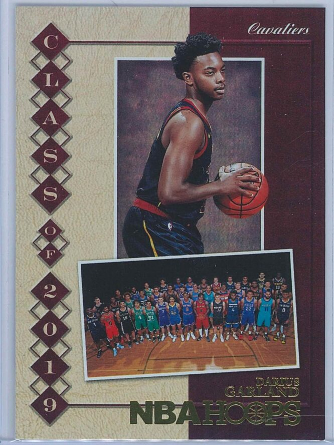 Darius Garland Panini NBA Hoops 2019-20 Class of 2019 Holo