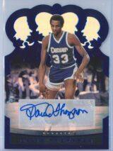 David Thompson Panini Crown Royale Basketball 2020-21  Blue  Auto
